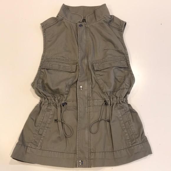 Club Monaco Jackets & Blazers - Club Monaco Sleeveless Utility Vest